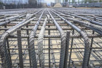 армирование бетоном
