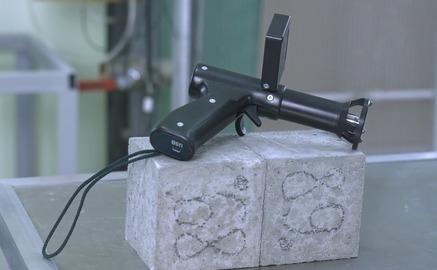 Прибор для контроля бетона методом ударного импульса