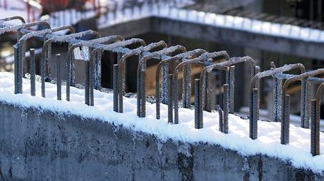 вымораживание бетона