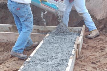 Работа с бетоном чем покрасить бетон