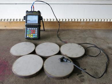 Прибор для измерения прочности бетона ультразвуком